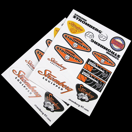 Stromberg Decal Sheet--Inside Only