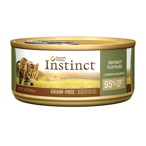 Nature's Variety Instinct Venison Formula Canned Cat Food