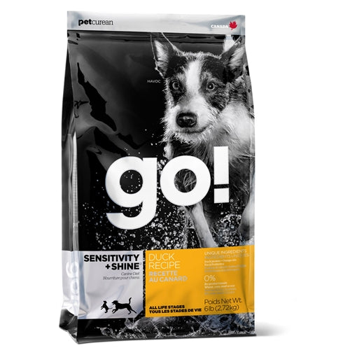 GO! SENSITIVITY + SHINE Duck Dry Dog Food