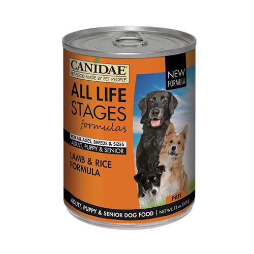 CANIDAE All Life Stages Lamb and Rice in Lamb Broth Canned Dog Food