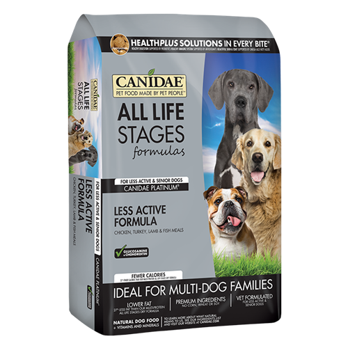 CANIDAE PLATINUM Senior and Overweight Dry Dog Formula