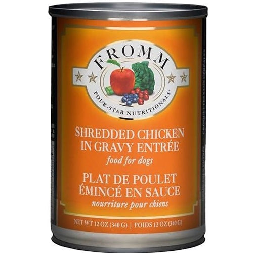 Fromm Four-Star Nutritionals Shredded Chicken Entree Canned Dog Food