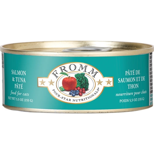 Fromm Four-Star Nutritionals Salmon & Tuna Pate Canned Cat Food