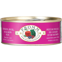 Fromm Four-Star Nutritionals Chicken, Duck & Salmon Pate Canned Cat Food