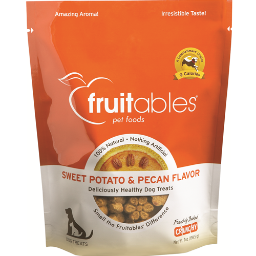 Fruitables Sweet Potato & Pecan Dog Treats