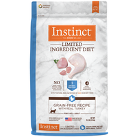 Nature's Variety Instinct Limited Ingredient Diet (LID) Turkey Meal Dry Cat Food