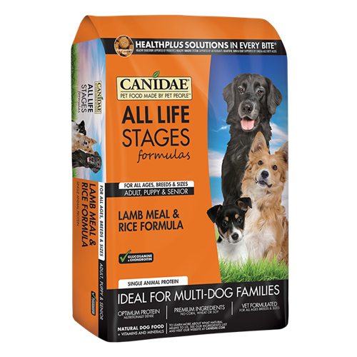 CANIDAE All Life Stages Lamb & Rice Formula Dry Dog Food