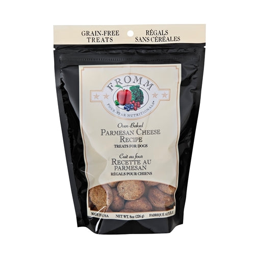 Fromm Four-Star Nutritionals Oven-Baked Parmesan Cheese Dog Treats