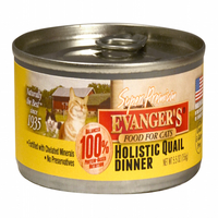 Evanger's Super Premium Holistic Quail Dinner Canned Cat Food
