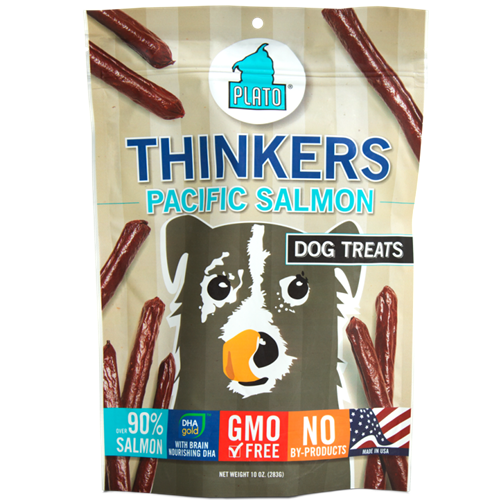 Plato Thinkers Wild Alaskan Salmon Dog Treats