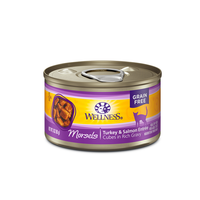 Wellness Grain-Free Morsels Turkey & Salmon Entree Canned Cat Food