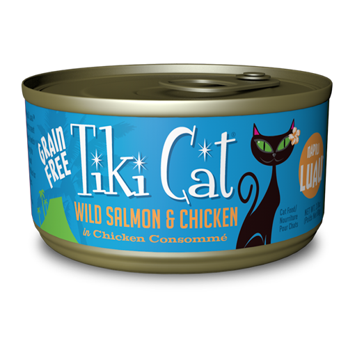 Tiki Cat Napili Luau (Wild Salmon & Chicken in Chicken Consomme) Canned Cat Food