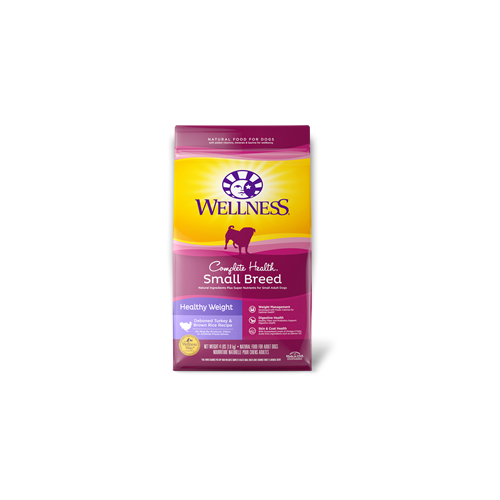 Wellness Complete Health Small Breed Healthy Weight Dry Dog Food