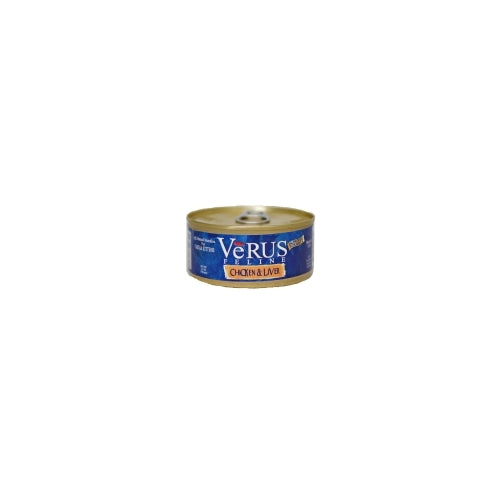 VeRUS Feline Chicken and Liver Canned Cat Food