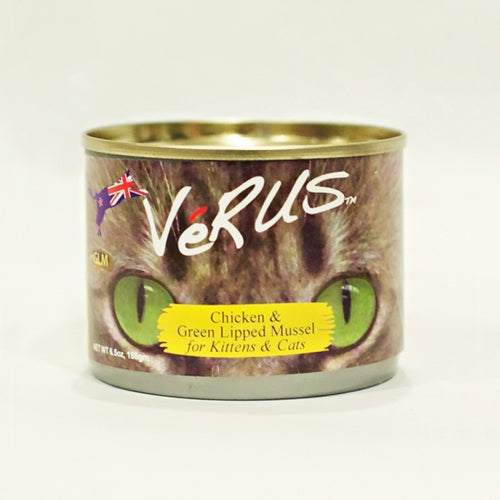 VeRUS Chicken and Green Lipped Mussel Canned Cat Food