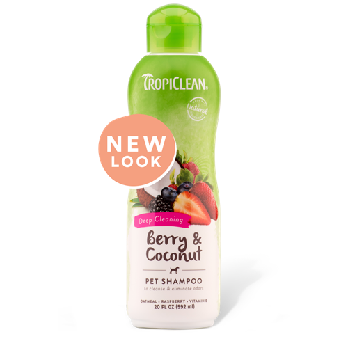 Tropiclean Deep Cleaning Berry Shampoo