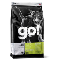 GO! FIT + FREE Grain-Free Chicken, Turkey and Trout Puppy Recipe Dry Food
