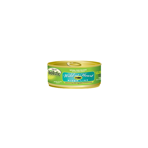 Precise Holistic Complete Salmon and Trout (River Line) Canned Dog Food