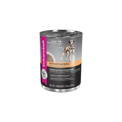 Eukanuba Adult Dog Entree with Beef and Rice