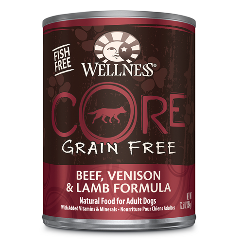 Wellness CORE Canned Beef, Venison and Lamb Formula