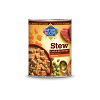Nature's Recipe Canned Senior Lamb and Rice Recipe Cuts in Gravy