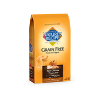 Nature's Recipe Grain Free Easy to Digest Chicken, Sweet Potato and Pumpkin Dry Dog Recipe