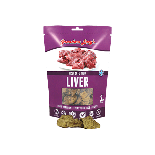 Grandma Lucy's Freeze-Dried Liver Pet Treats