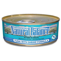 Natural Balance Tuna with Shrimp Canned Cat Food