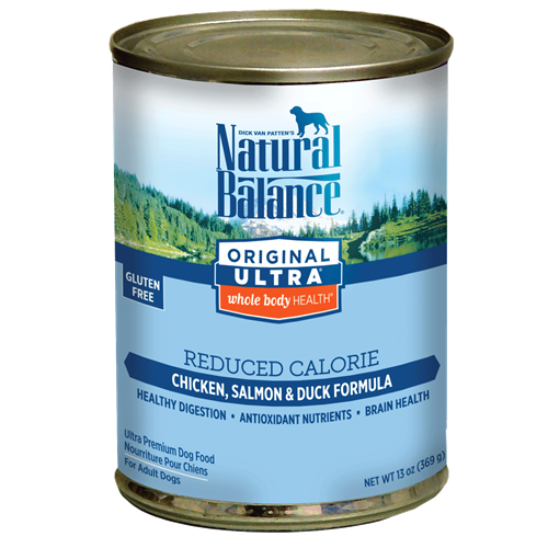 Natural Balance Original Ultra Whole Body Health Reduced Calorie Canned Dog Food