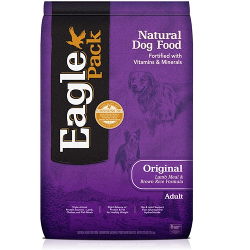 Eagle Pack Natural Original Adult Lamb Meal & Brown Rice Dry Dog Food