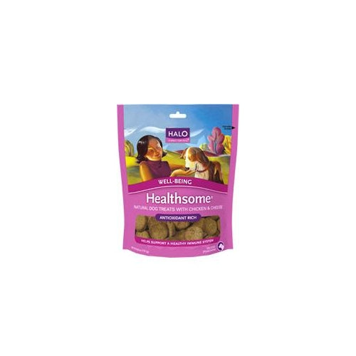 Halo Well-Being Healthsome Chicken and Cheese Dog Treats
