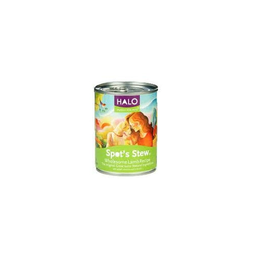 Halo Spot's Stew Wholesome Lamb Canned Dog Food