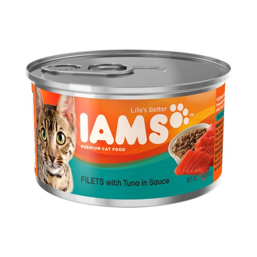 Iams ProActive Health Adult Filets with Tuna in Sauce Canned Cat Food