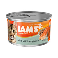 Iams ProActive Health Adult Pate with Pacific Salmon Canned Cat Food