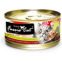 Fussie Cat Premium Tuna with Salmon Canned Cat Food