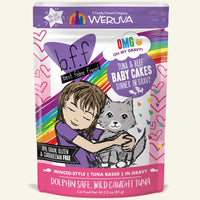 Best Feline Friend Tuna & Beef BABY CAKES Cat Pouches