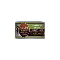 Dave's Pet Food Naturally Healthy Grain Free Tuna Entree in Gravy Canned Cat Food