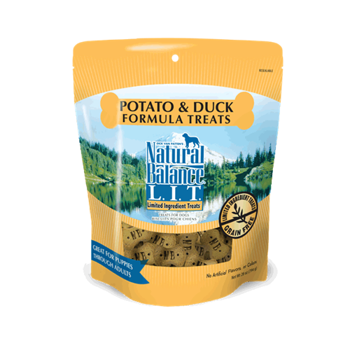Natural Balance L.I.T. Grain Free Potato and Duck Treats