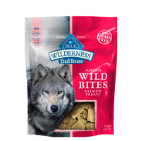 Blue Buffalo Wilderness Grain Free Wild Bites Salmon Dog Treats