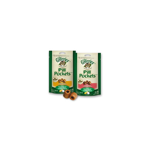 Greenies Pill Pockets for Cats - Salmon