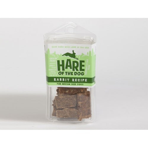 Hare of the Dog Rabbit Jerky Treats for Medium Dogs  PFX