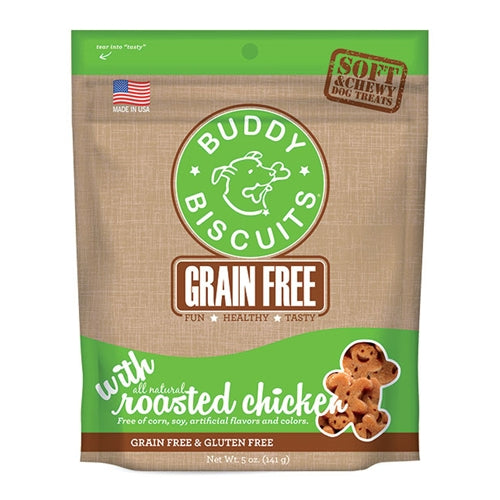 Cloud Star Grain free Soft and Chewy Chicken Dog Treats