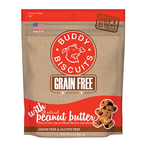 Cloud Star Grain Free Soft and Chewy Peanut Butter Dog Treats
