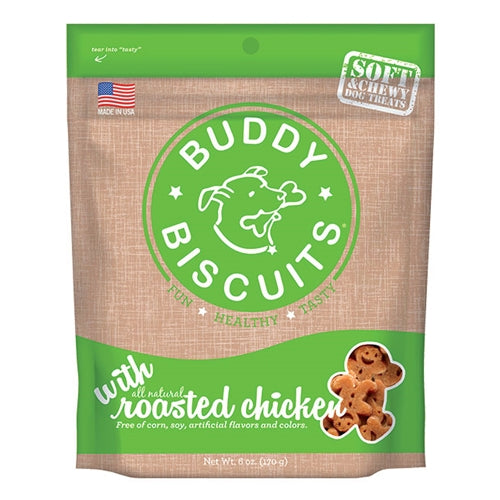 Cloud Star Original Buddy Biscuits Soft and Chewy Chicken Dog Treats