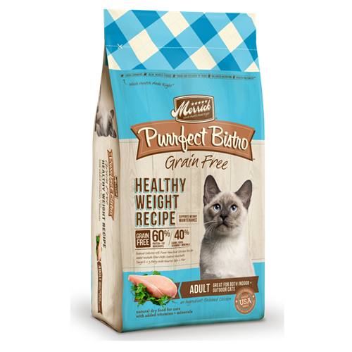 Merrick Purrfect Bistro Grain Free Weight Recipe Dry Cat Food