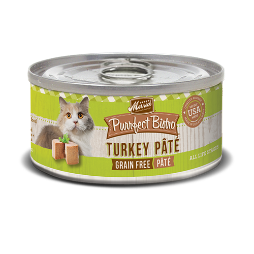 Merrick Purrfect Bistro Turkey Pate Cat Cans
