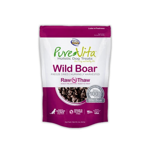 PureVita Freeze Dried Wild Boar Treats