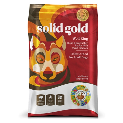 Solid Gold Wolf King Adult Dry Dog Food