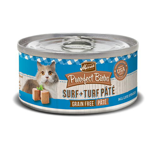Merrick Purrfect Bistro Surf and Turf Cat Cans