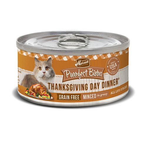 Merrick Purrfect Bistro Thanksgiving Day Dinner Cat Cans